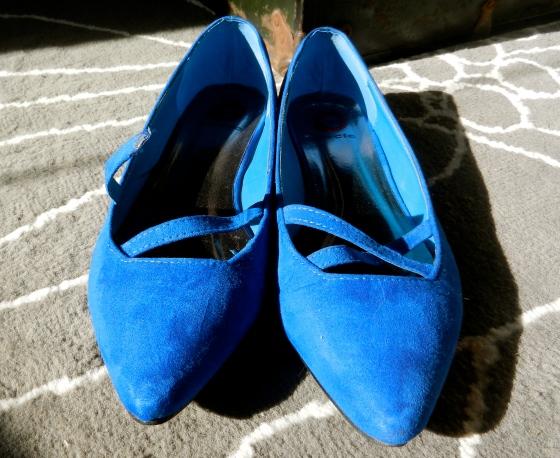 broken blue suede shoes