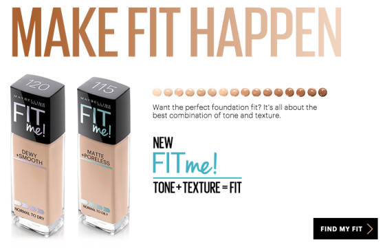 "Image of Maybelline ""Fit Me"" Foundation"